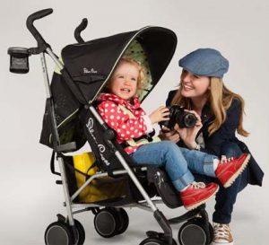 silla paseo con niño