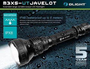 Por Qué Deberías Comprar la Linterna Olight M3XS-ut javelot