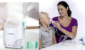 Excelente Nebulizador de Bebés Asma o Resfriado