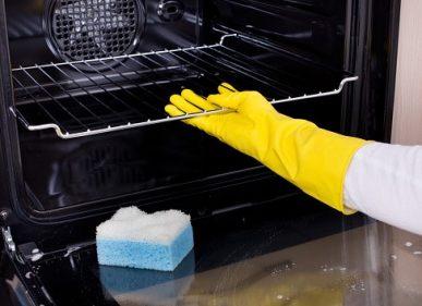 Fácil limpieza de horno eléctrico
