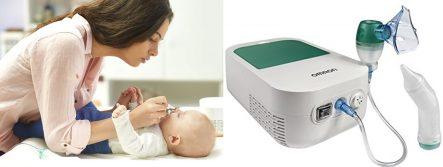 Genial Nebulizador de Bebés