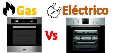 Horno a gas vs eléctrico