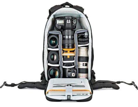mochila Lowepro Flipside - para Material Fotográfico