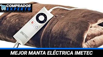 Manta Eléctrica Imetec