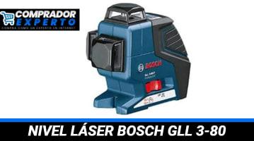 Nivel Láser Bosch GLL 3-80