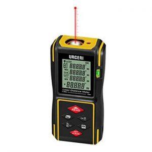 medidor laser barato con area y volumen