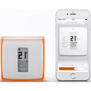 termostato netatmo - uno de los mejores termostatos wifi
