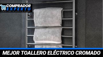 Toallero Eléctrico Cromado