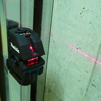 uso del nivel laser Makita