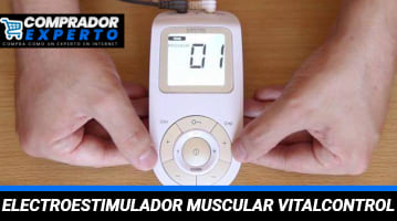 Electroestimulador Muscular Vitalcontrol