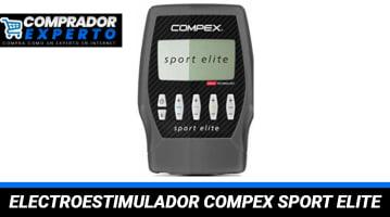 Electroestimulador Muscular Compex Sport Elite
