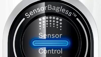 Aspiradora bosch con Tecnología Sensor Bagless