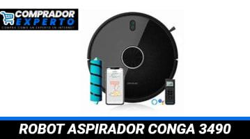 Robot Aspirador Conga 3490