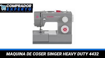 Maquina de Coser Singer Heavy Duty 4432