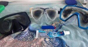 Cómo desempañar las Gafas de Buceo