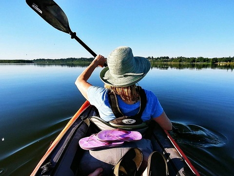 Dónde comprar una Canoa Hinchable