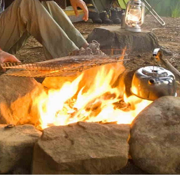 como Montar una cocina camping